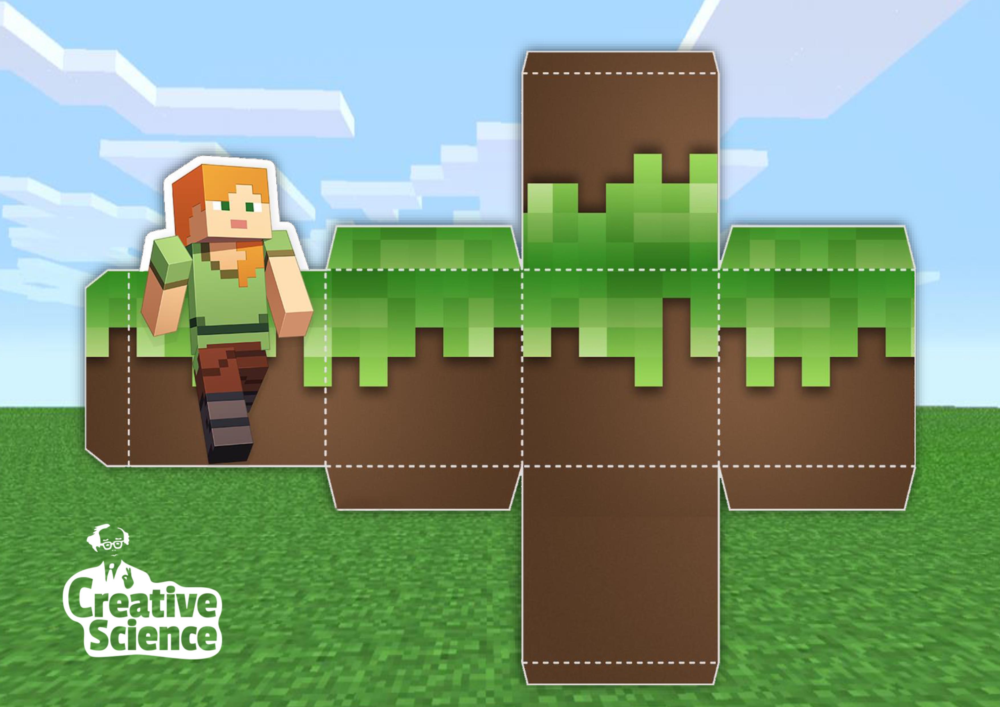 Idén nem jutsz el a Mineshow-ra? Ne fancsali képet, inkább minecraftos blokkokat vágj!
